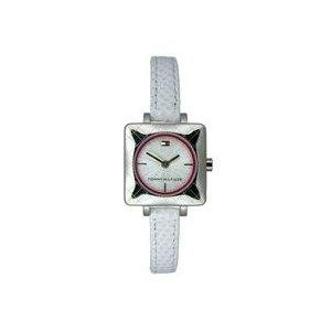 (Tommy Hilfiger 1700386 Women's White Leather Collection Watch)