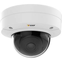 - axis P3225-LVE MK II Series Fixed Dome IP Camera, HDTV, 1080p, 3-10.5 mm P-Iris Vari-Focal Lens, 30 fps/60 fps (WDR on/Off), PoE, Day/Night, IR Illumination, IK10 Outdoor Casing, Mounting Bracket