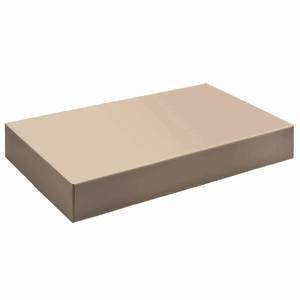 Kraft Apparel Gift Boxes 19 x 12 x 3 Case of 50 by Retail Resource