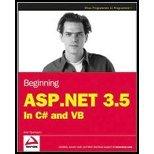 Beginning ASPNET 35- In C# & VB (08) by Spaanjaars, Imar [Paperback (2008)]