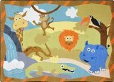 Joy-Carpets-Kid-Essentials-Infants-Toddlers-Jungle-Babies-Rug-Multicolored-310-x-54