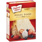 Duncan Cake Mix Premium Angel Food 16 OZ (Pack of 24) by Duncan Hines