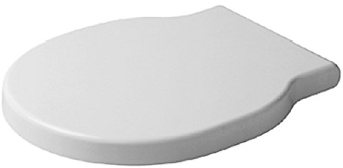Duravit 0060210000 Foster Toilet Seat and Cover, White - Duravit Toilet Set