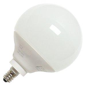 TCP 2G2514C 14-watt G25 Globe CFL Candelabra, 2700-Kelvin