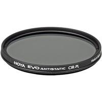 Hoya Evo Antistatic CPL Circular Polarizer Filter - 49mm - Dust / Stain / Water Repellent, Low-Profile Filter Frame by Hoya