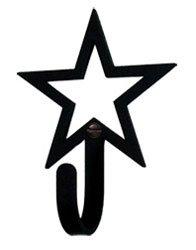 Open Star Wall Hook Ex Sm -- 3 Pack