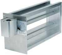 White Rodgers CZDS2410 Zoning Damper, Side Mounted Motor, 24