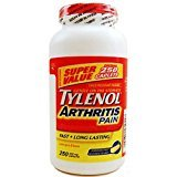 Tylenol Arthritis Pain 250 Caplets Bottle, 650mg Acetaminophen