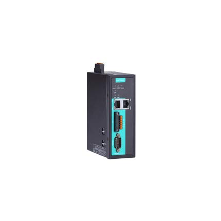 MOXA MGate 5118-T Industrial Protocol Gateway, 1-Port J1939 to Modbus/PROFINET/EtherNet/IP Gateway, for Protocol -