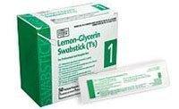 Glycerine Swabsticks (PT# -316225 Lemon Glycerine Swabstick 3's 25/Bx by, PDI Professional Disposables)