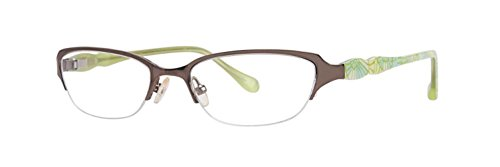 Lilly Pulitzer Lunettes Jade marron 50mm