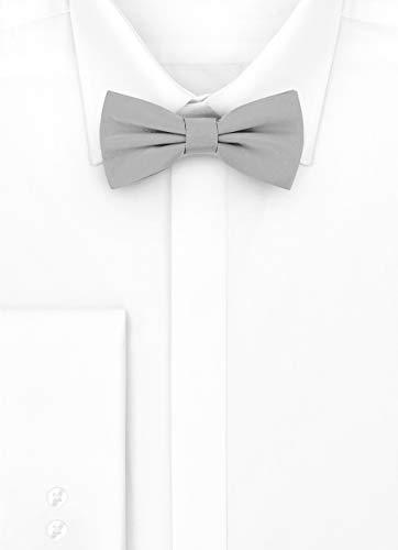 Mans Grey Tie 6cm Bow Ladeheid x M 12cm 40qdwn71