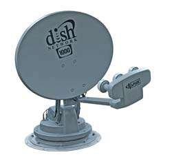Winegard SK-1000 TRAV'LER Gray/Black DISH Multi-Satellite TV Antenna