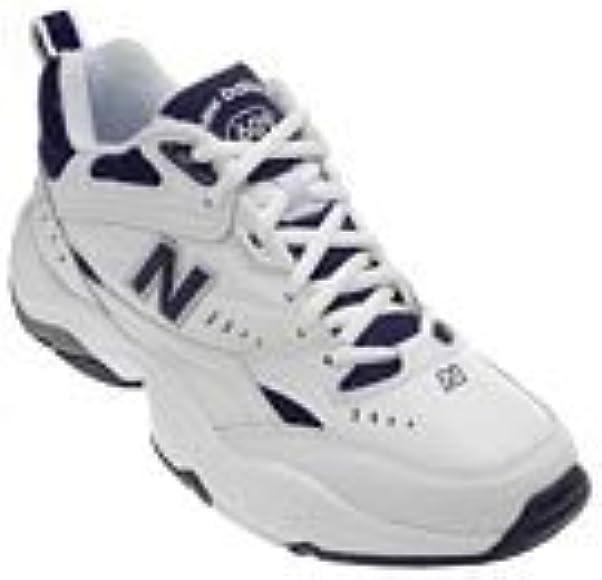 White/Navy 9.5 2E