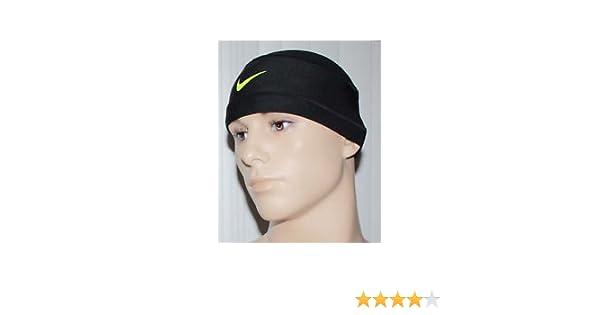 bfa07fc725b ... Black Adult Size OSFM  super popular fcbca 35762 Amazon.com NIKE Pro  Combat Mesh Skull Cap (BlackVolt