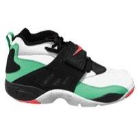 Men's Nike Air Diamond Turf Cross Trainer Shoes - 309434 301, Gamma Green/Atomic Red-White-Blk - Size 10.5 D(M) (Nike Diamond Cross)