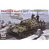 Rye Field Model 1:35 Panther Ausf.G Sd.Kfz.171 Early/Late w/ Full Interior #5016 (Kfz.171 Sd Panther)
