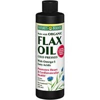 Bounty Nature Flaxseed Oil liquide organique 8 oz 8 fl oz