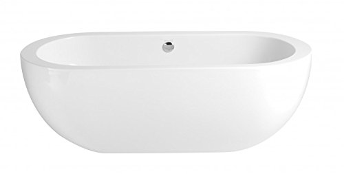 Casa Padrino Art Deco bath detached White model He-Ele 1800mm - Freestanding Retro