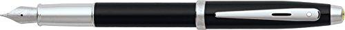 Sheaffer Ferrari 100 Series, Gloss Black, Nickel Plate Trim, Fountain Pen: Medium Nib (FE0950253) ()