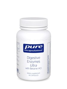 Pure Encapsulations - Digestive Enzymes Ultra W/Betaine Hcl 90's
