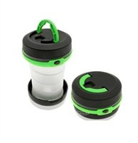 Happy Camper Collapsible 2 in 1 LED Flashlight and Lantern