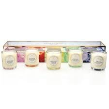 Voluspa Maison Jardin Collection Votive 5 Candle Gift Set New 2015 ()