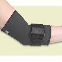(Fla 19-601MDBLK Safe-T-Sport Compressive Elbow Sleeve, Black, Medium by Fla )