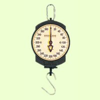 Detecto 11S400HKG Scale hanging ''S'' hook 7'' single dial 200 kg. x 500 g. capacit by Detecto