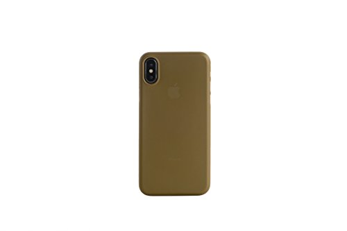 Tucano Nuvola, An iPhone X case made in flexible polypropylene material, Designed for iPhone X - Gold
