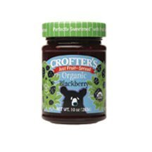 Crof ters Fruit Spread-Blackberry/No Sugar (95% Organic), 10-Ounce (Pack of 6)