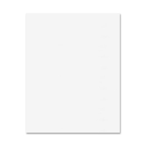 Wholesale CASE of 5 - Pacon Two-sided Railroad Posterboard-2-Sided Railroad Posterboard,6-Ply,22''x28'',100 SH/CT,White by PAC