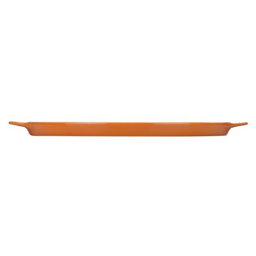 Mario Batali by Dansk Stoneware Pizza Pan, 12-Inch, Persimmon