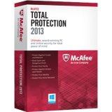 Software : McAfee Total Protection 3 PC's 2013