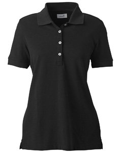 (Ashworth 1146C Ladies Combed Cotton Piqu? Polo-Short Sleeve)