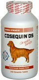 Nutramax Cosequin DS Double-Strength Chewable Tablets – 250 Count