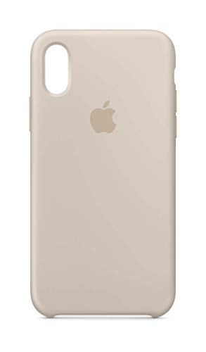 Apple Silicone Case (for iPhone Xs) - Stone (Renewed)
