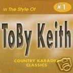 Toby Keith COUNTRY KARAOKE CLASSICS CDG VOL. 01 - 5 Disc Karaoke Player