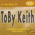Toby Keith COUNTRY KARAOKE CLASSICS CDG VOL. 01 ()