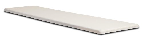 - S.R. Smith 66-209-588S2 Frontier II Replacement Diving Board, 8-Feet, Radiant White