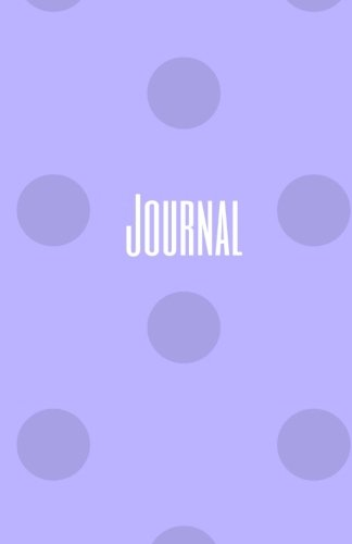 Journal: Purple Polka Dot Diary or Notebook, Small (Elite - Polka Dot Journal