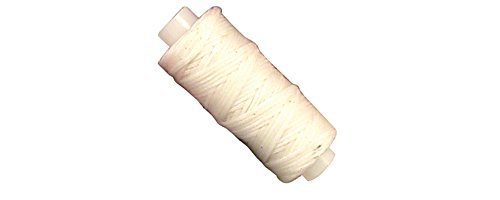 Braided Waxed - Tandy Leather Waxed Braided Cord 25 yds. (22.9 m) White 11210-05