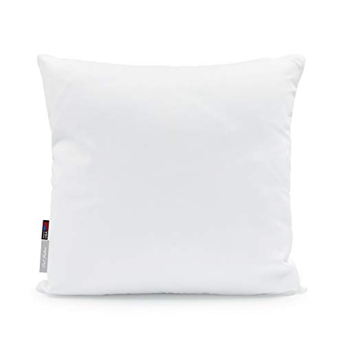 Pal Fabric Outdoor Anti-Mold Waterproof Square Sham Pillow Insert Made in USA (16x16)