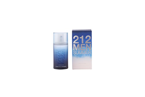 Carolina Herrera 212 Summer Eau de Toilette Spray for Men, 3.4 Ounce
