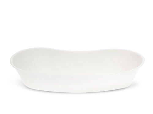 Medline DYND80322 Emesis Basins, Plastic, 500 mL, White (Pack of 250)