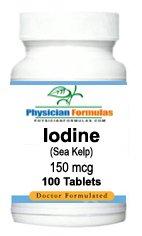 Supplément d'iode de varech mer 150 mcg, 100 comprimés - Approuvé par le Dr Ray sahélienne, MD - Pill thyroïde