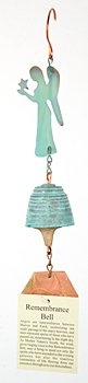 Harmony Hollow Remembrance Bronze Wind Bell by Harmony