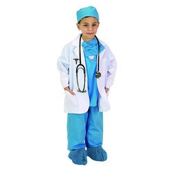 Aeromax Jr. Lab Coat, 3/4 Length