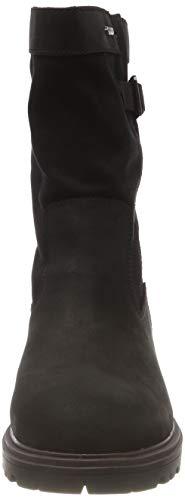 Lea Pour Doxburyflowgtx Clarks Bouclées Bottes Noires Femme noir Combi qrFI8r