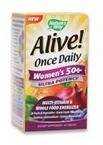 (Nature's Way Alive! Once Daily Women's 50 Plus Ultra Potency - 60 Tablets)